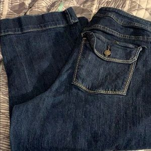 Just my size jean capris sz 18W dark wash